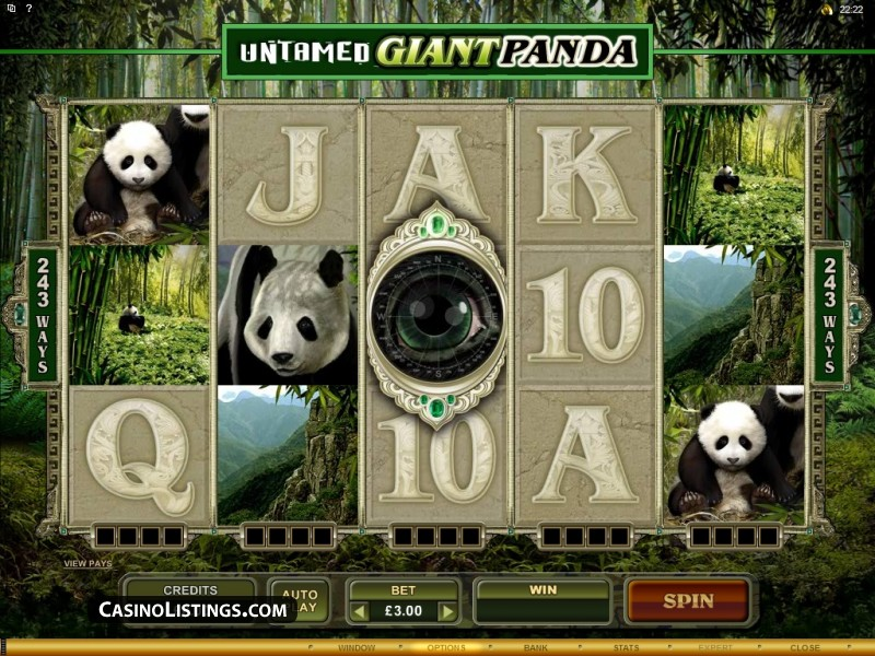 Enjoy the Massive Event of Untamed Giant Panda Casino Slot