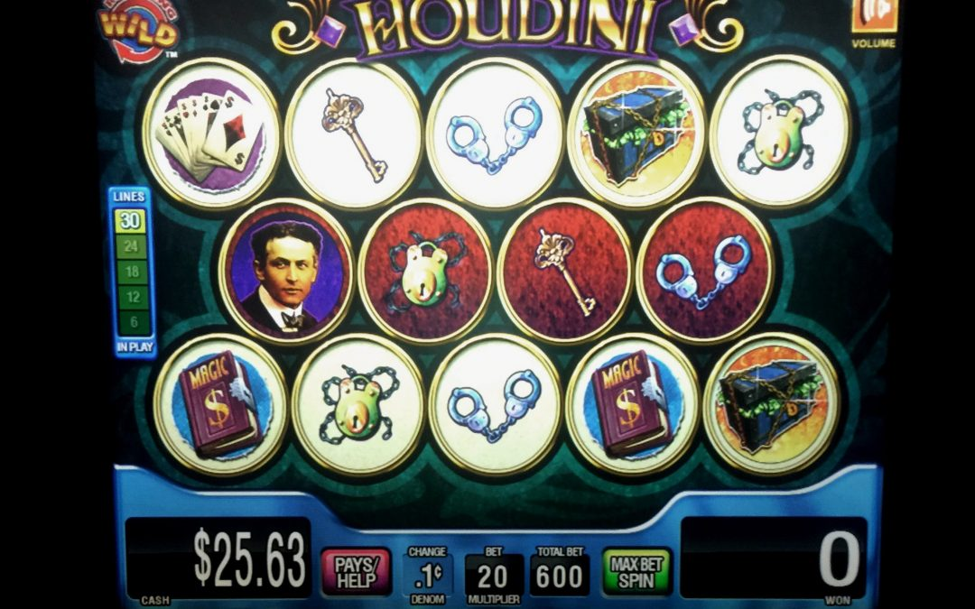 Play Showman of Houdini Casino Slot Machine